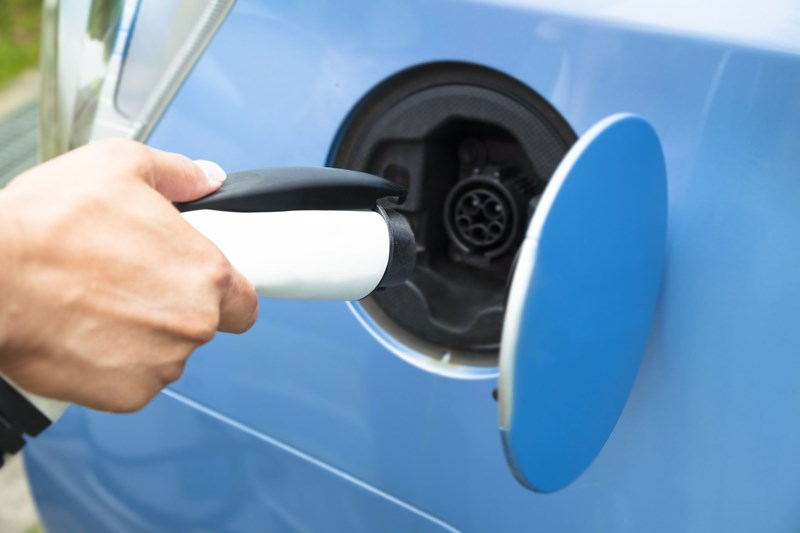 Tax relief for electric vehicle charging points