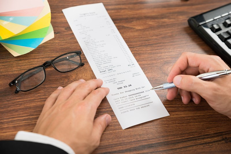 Receipts to cover certain expenses to be abolished?