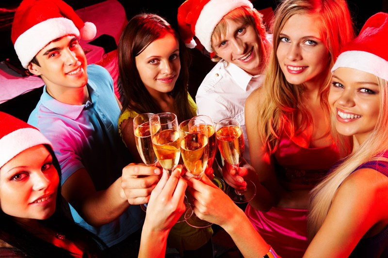 Christmas party and other social events