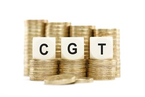 CGT annual tax-free allowances