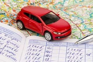 Tax write downs for business cars