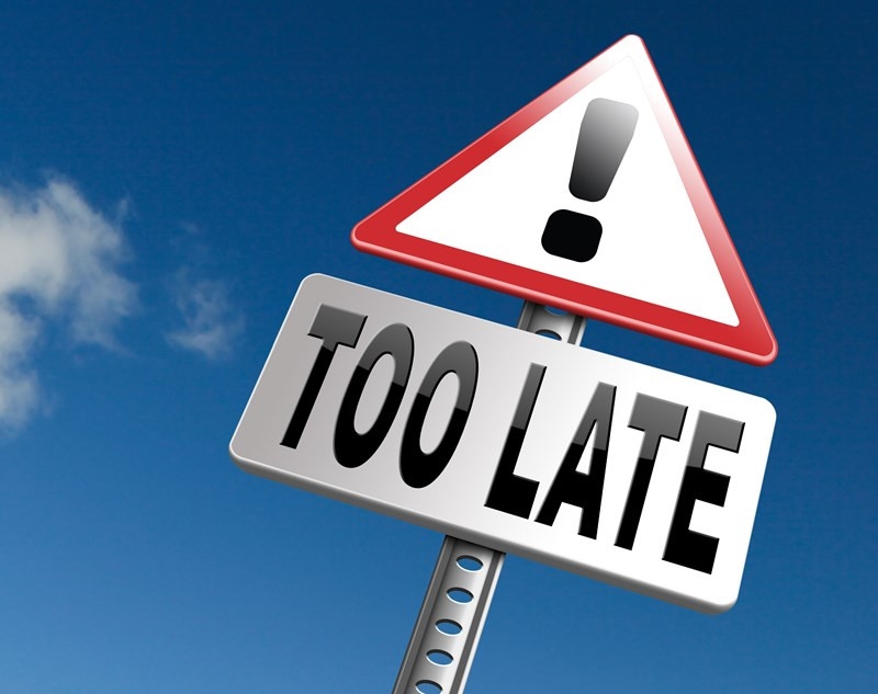 Did you file before the deadline?